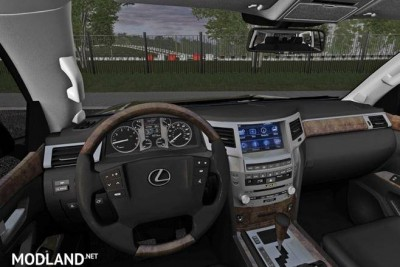 Lexus LX570 5.7 Sport Design [1.5.9], 2 photo